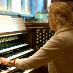 marcia at organ