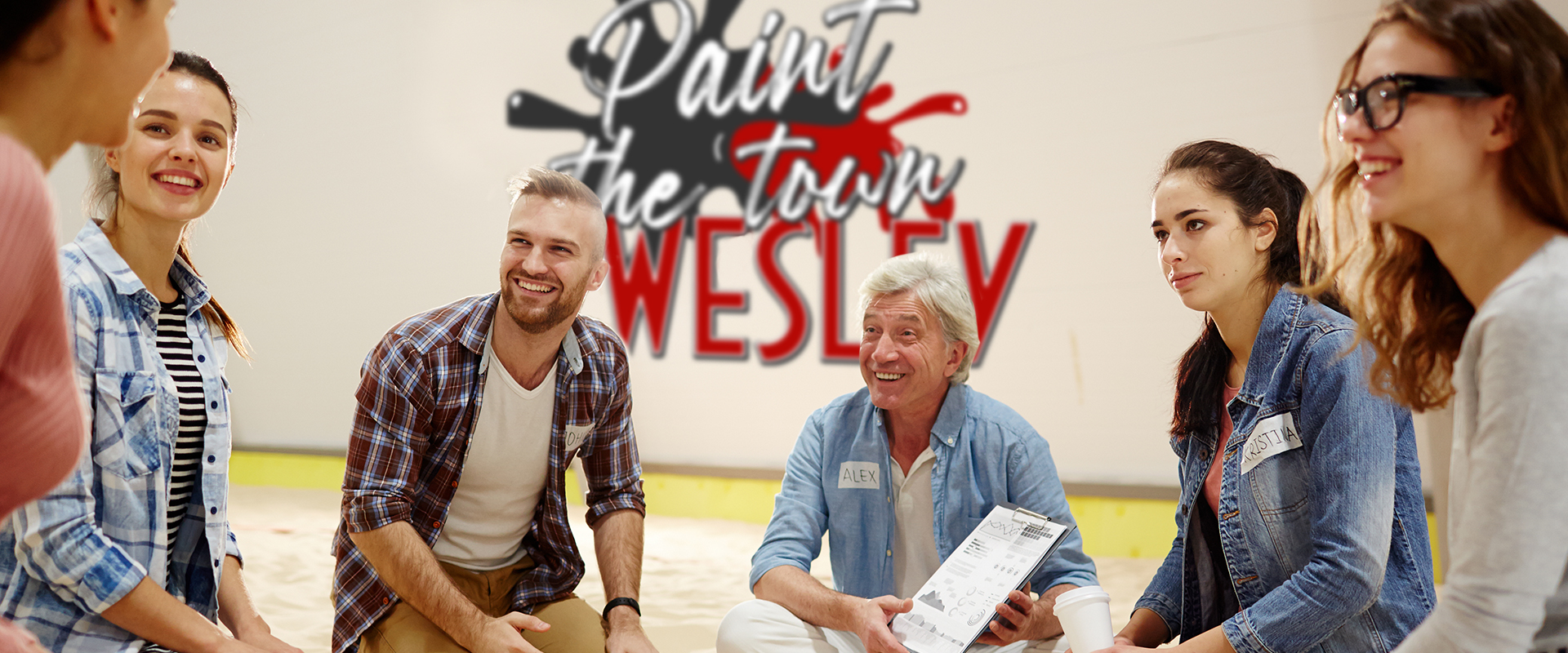 Paint the town wesley
