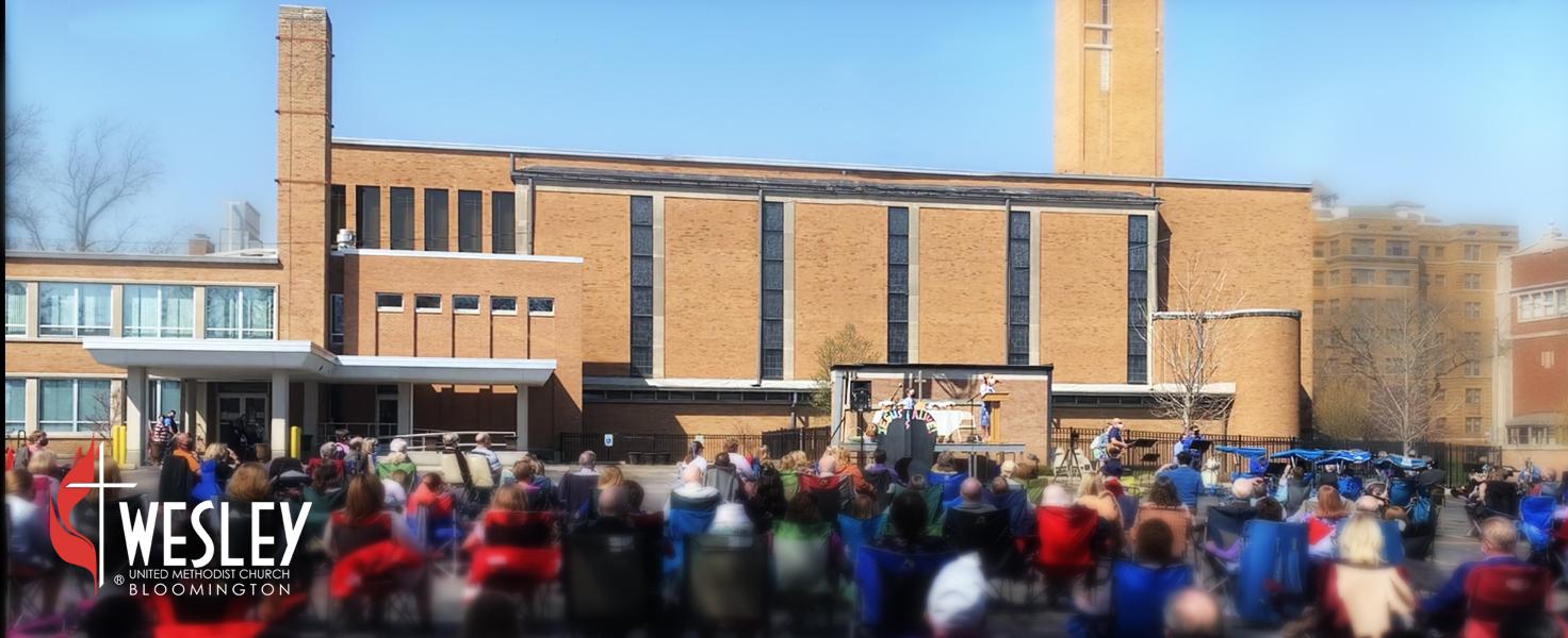 Outdoor Mixed Worship with Wesley UMC Bloomington @ Wesley United Methodist Church Bloomington