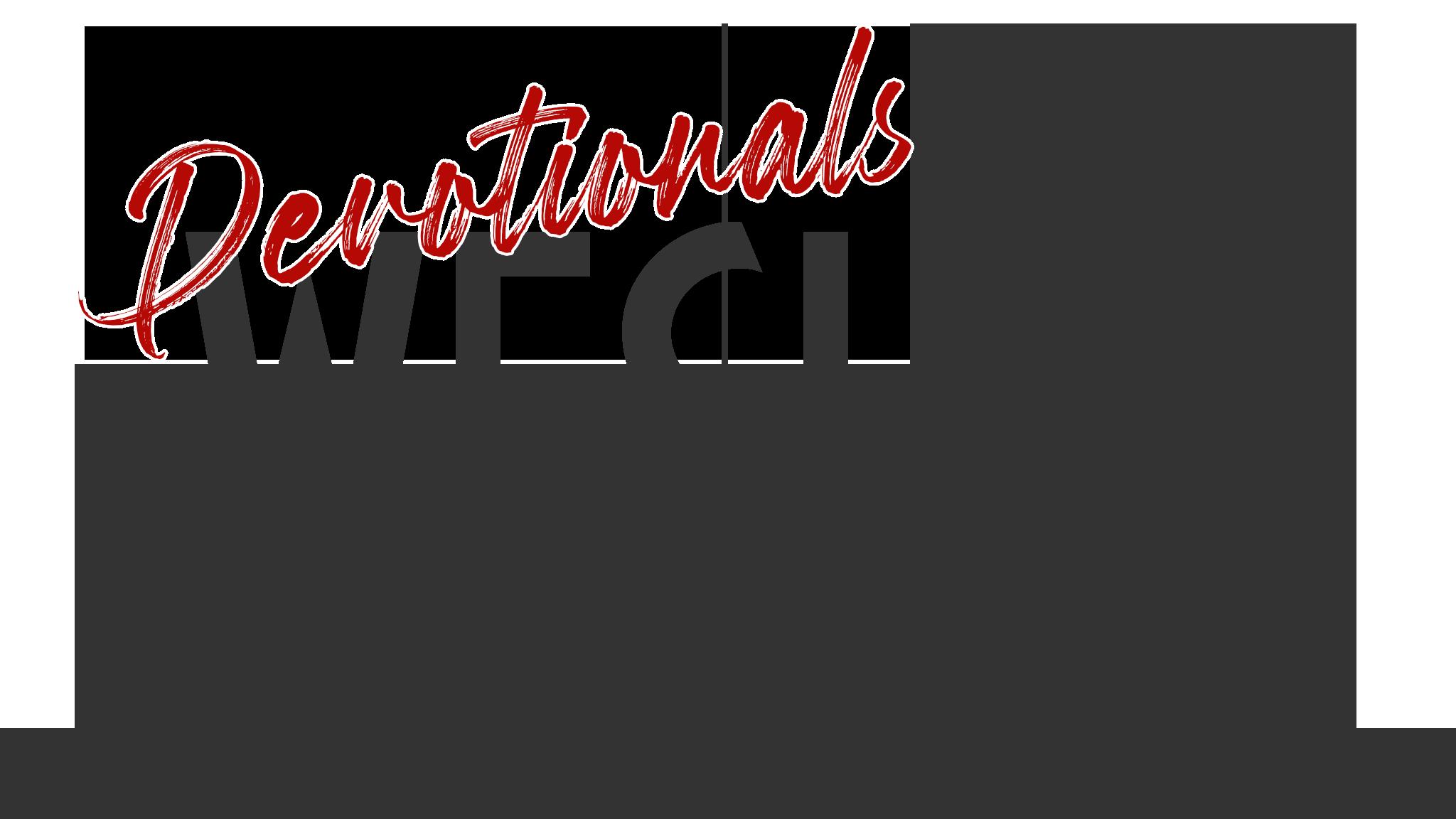 devotionals page header