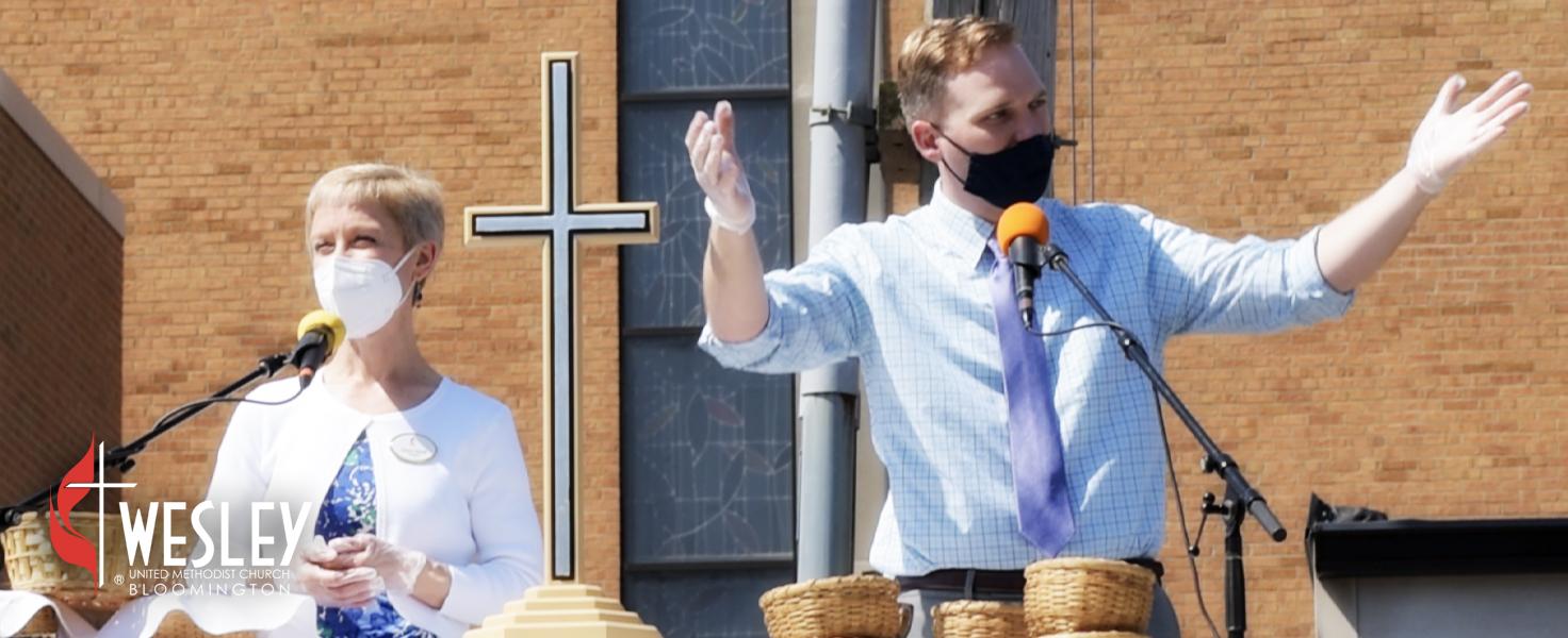 wesley umc bloomington pastors outdoors