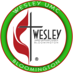 WESLEY UMC BLOOMINGTON GREEN LOGO