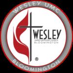 WESLEY UMC BLOOMINGTON GREY LOGO