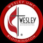WESLEY UMC BLOOMINGTON RED LOGO