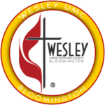 WESLEY UMC BLOOMINGTON YELLOW LOGO