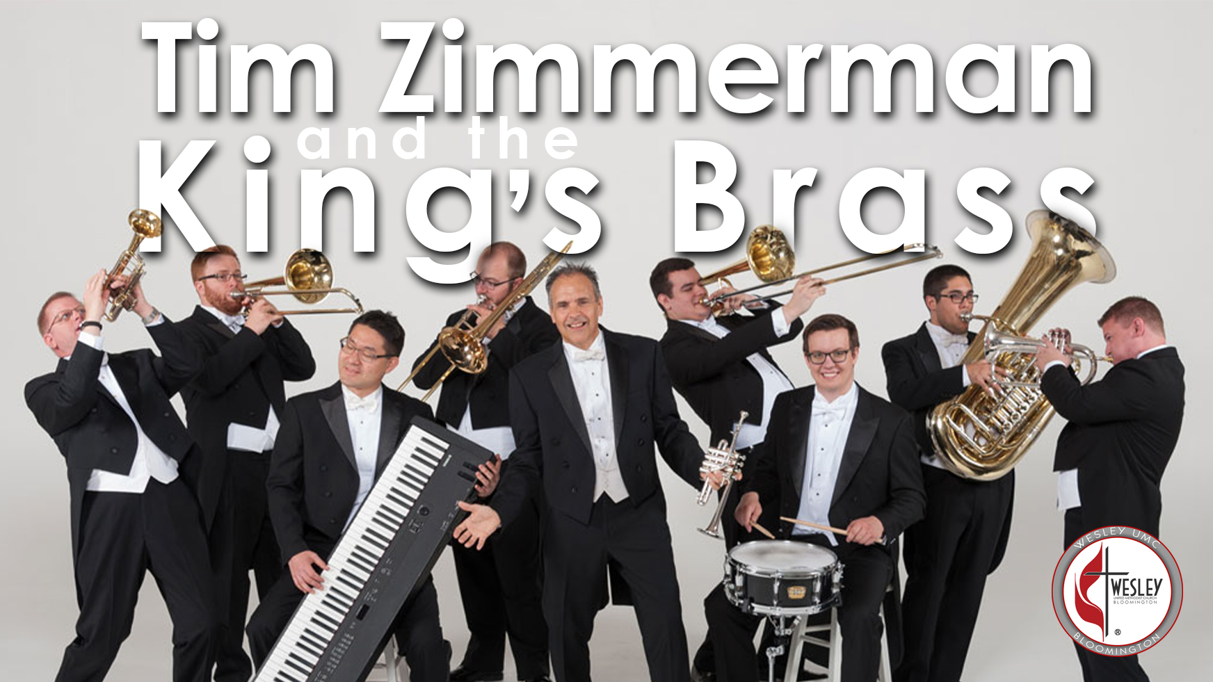 tim zimmerman and the kings brass at wesley