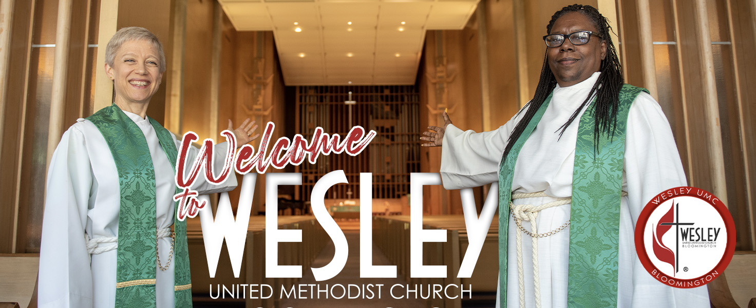 WELCOME TO WESLEY UMC